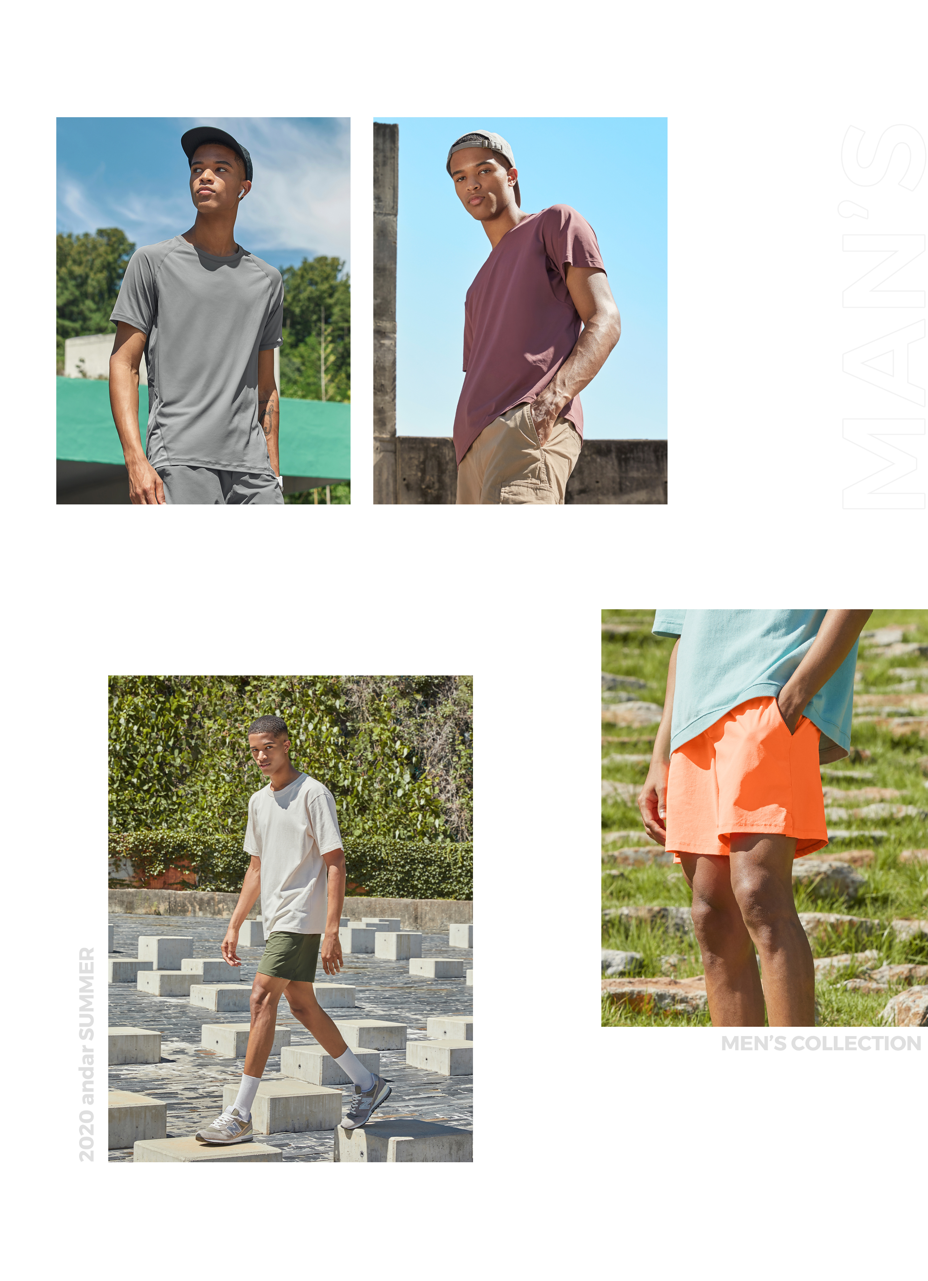 andar MEN'S CAPSULE COLLECTION